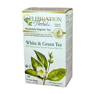 White & Green Tea