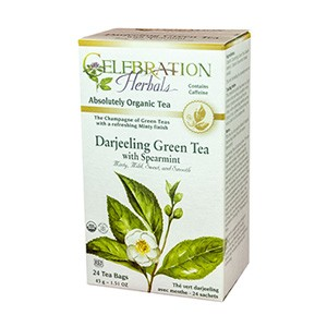 Green Tea Darjeeling with Spearmint