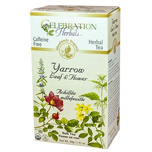 yarrow flowers tea celebration herbals