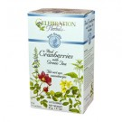 Cranberries with Green Tea