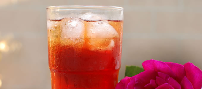 Iced Teas good for hot or cold days.