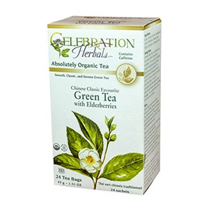 Green Tea with Elderberries