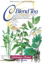 C Blend Tea package