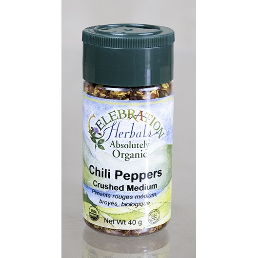 Chili Peppers Red Crushed Medium