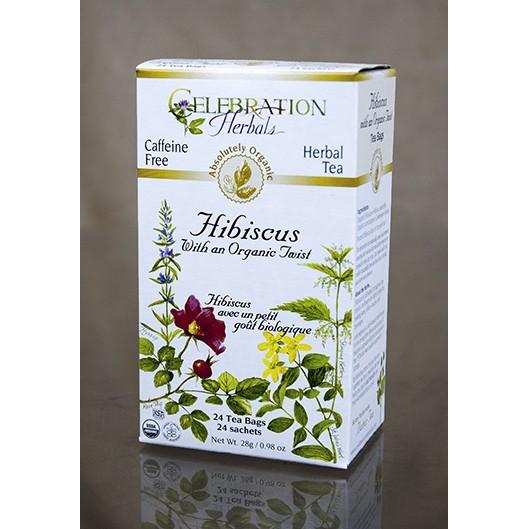 Hibiscus Tea with an Organic Twist