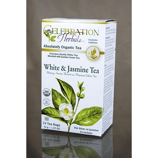White and Jasmine Tea