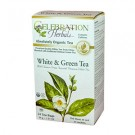 White & Green Tea