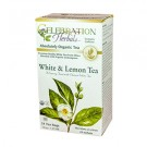 White & Lemon Tea